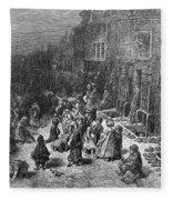 Dor�: London, 1872 Fleece Blanket