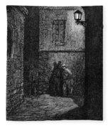 Dore: London, 1872 Fleece Blanket