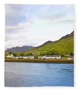 Dornie Village Fleece Blanket
