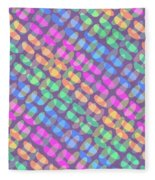 Dotted Check Fleece Blanket