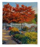 Dotti's Garden Autumn Fleece Blanket