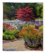 Dotti's Garden Summer Fleece Blanket