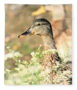 Double Duck Fleece Blanket