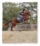 Double Up Hill Jump Fleece Blanket