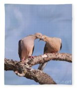 Dove Devotion Fleece Blanket