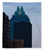 Downtown Austin Fleece Blanket