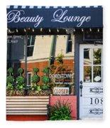 Downtown Beauty Lounge Fleece Blanket