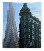 Downtown San Francisco 2 Fleece Blanket