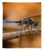 Dragon Fly Fleece Blanket
