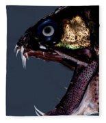 Dragonfish Mouth Fleece Blanket