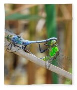Dragonfly Love Fleece Blanket