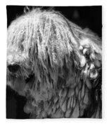 Dreadlock Dog Fleece Blanket