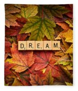 Dream-autumn Fleece Blanket