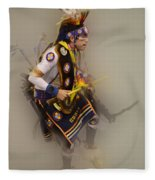 Pow Wow Dream Time Fleece Blanket