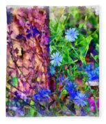 Dreaming Night And Day Fleece Blanket