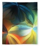 Dreaming Night Blooms 2 Fleece Blanket