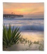 Dreams By The Sea Fleece Blanket