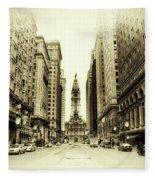 Dreamy Philadelphia Fleece Blanket