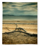 Driftwood 1 Lomo Fleece Blanket