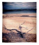 Driftwood 2 Lomo Fleece Blanket