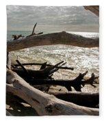 Driftwood Jungle II Fleece Blanket