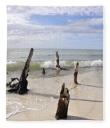 Driftwood Stands Watch Fleece Blanket