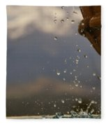 Dripping Fountain Fleece Blanket