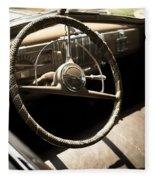 Driver's Seat Fleece Blanket