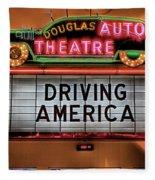 Driving America Douglas Auto Theatre Fleece Blanket