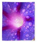 Droplets Glory Fleece Blanket
