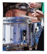 Drummer Boy Fleece Blanket