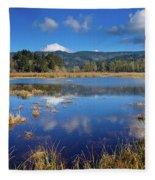 Dry Lagoon Panorama Fleece Blanket