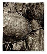 Drying Onions Fleece Blanket
