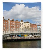 Dublin Scenery Fleece Blanket