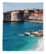 Dubrovnik Old City Fleece Blanket