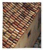 Dubrovnik Rooftop Fleece Blanket