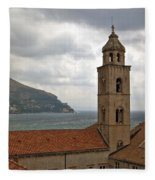 Dubrovnik View 3 Fleece Blanket
