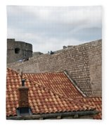 Dubrovnik View 4 Fleece Blanket