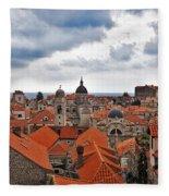 Dubrovnik View 7 Fleece Blanket