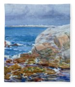 Duck Island Fleece Blanket