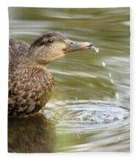 Duck Spits Fleece Blanket