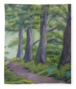 Duff House Path Fleece Blanket