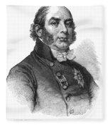 Duke Of Kent (1767-1820) Fleece Blanket