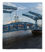 Duluth Draw Bridge 1 C Fleece Blanket