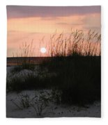 Dune Sunset Fleece Blanket