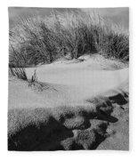 Dunes On A Staten Island Beach Fleece Blanket