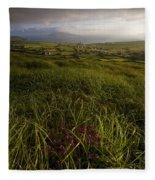 Dunquin, County Kerry, Ireland Rural Fleece Blanket