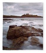 Dunstanburgh Castle II Fleece Blanket