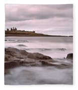 Dunstanburgh Castle IIi Fleece Blanket