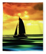 Dusk Fleece Blanket